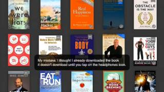 Review - Kindle App for iOS updated with Audible Support