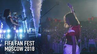 FIFA FAN FEST 2018 FINAL - Елена Темникова (Москва, Воробьевы Горы)