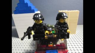 Lego Zombie Town Attack