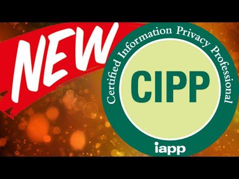 2019 Changes to IAPP's CIPP/E Exam - YouTube