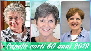 Tagli capelli 2019 60 anni