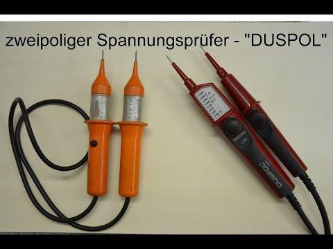 zweipoliger Spannungsprüfer - DUSPOL expert