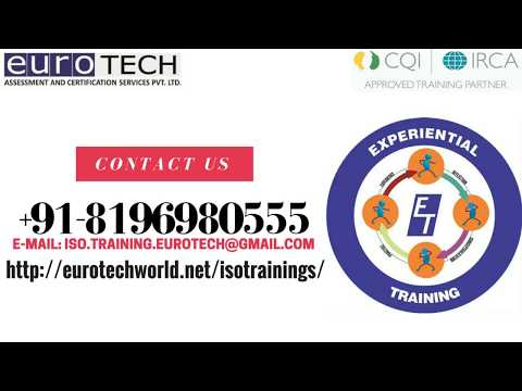ISO 9001 2015 QMS Auditor Lead Auditor Training Course - YouTube