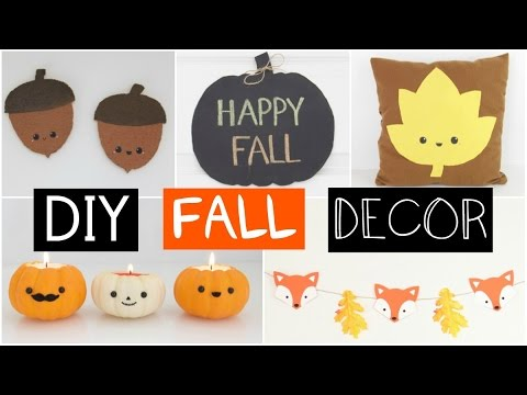 DIY FALL ROOM DECOR – Five Easy & Inexpensive Ideas!