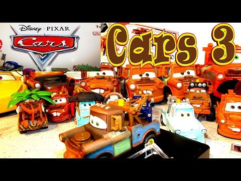 🚗Cars 3 Cars Character Encyclopedia Mater 🌞 And Precision Mater Unboxing From Pixar Car 👅