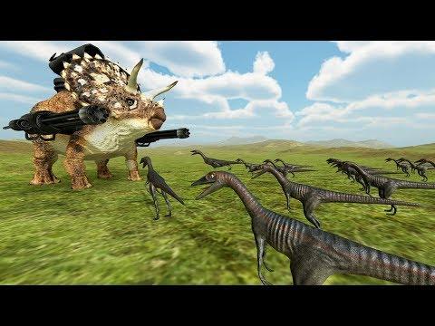 野獸戰爭模擬器又來啦~ 超級小恐龍!!