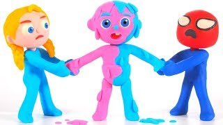 Kids Changing Colors ❤ Cartoons For Kids