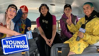 PRETTYMUCH Tease Their New EP For Fans & Give Dating Advice!