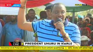 President Uhuru attends Gender PS Safina Kwake's homecoming party in Kwale
