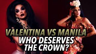 MANILA VS VALENTINA!! Who deserves the crown?