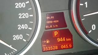 BMW Geheimmenü Kühlmitteltemperatur Werksmenü E Modell