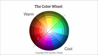 Color Theory: Warm Blue vs. Cool Blue