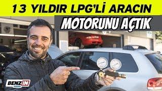 13 yıldır LPG kullanılan arabanın motorunu açtık | Ne çıktı?