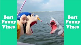 Funny Shark Puppet Compilation 2019 | Shark Puppet Clips    Best Funny Vines