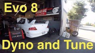 2003 Evo 8 Dyno and Tune (400hp/400qt)