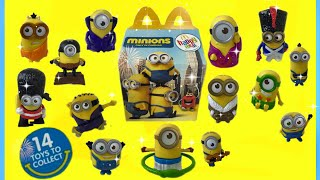 Minions Movie McDonalds Happy Meal Toys Despicable Me 3 Movie Happy Meal Coming soon 2017