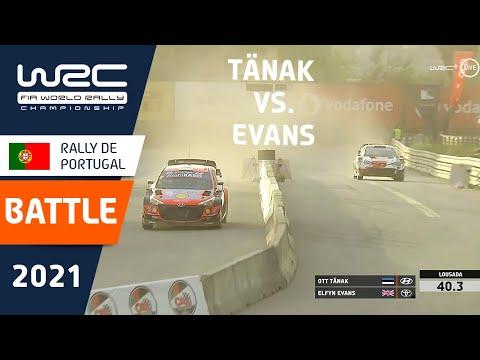 ヒュンダイのタナックとトヨタのエバンスの対決 WRC 2021 第4戦ラリー・ポルトガル