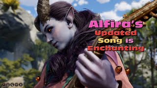 Alfira's Updated Song - The Weeping Dawn -  is Enchanting! [ BG3 Early Access ]