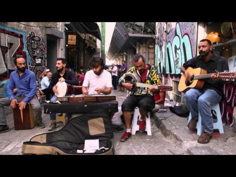 Kararsizlar - Mavilim - street shooting in Tünel Sahne - Istanbul - 31/08/2014