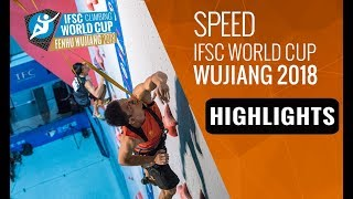 IFSC Climbing World Cup - Wujiang 2018 - Lead/Speed - Highlights