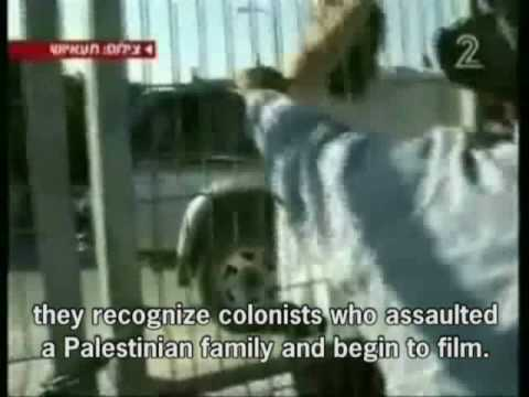 channel 2- attack on Palestinians in Hebron