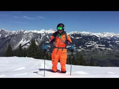 The ULLR Powder Suit reviewed by Daniel Buerkle