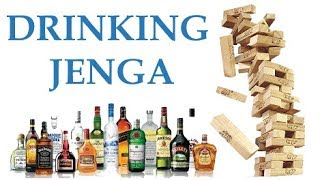 How To Make An Adult Jenga Set | Drinking Jenga | R18