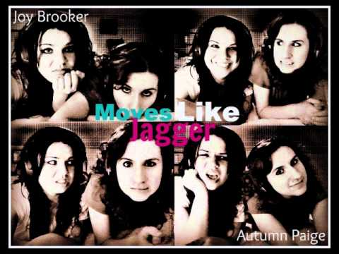 """Moves Like Jagger"" DUET Cover - Joy Brooker and Autumn Paige"