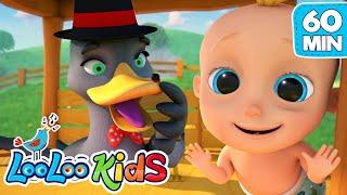 Goosey Goosey Gander   The BEST SONGS For Kids | LooLoo Kids