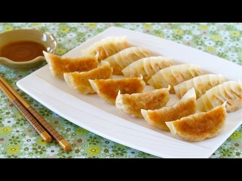 Vegetable Gyoza (Vegetarian Fried Dumplings) 野菜餃子の作り方 – OCHIKERON – CREATE EAT HAPPY