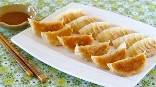 Vegetable Gyoza (Vegetarian Fried Dumplings) 野菜餃子の作り方 – OCHIKERON – CREATE EAT HAPPY
