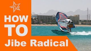 Windsurfing Tutorial How to Jibe - Carve Jibe / Laydown Jibe / Race Gybe technique