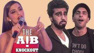 AIB Knockout CONTROVERSY  Sonam Kapoor REACTS On Brother Arjun Kapoors VIDEO