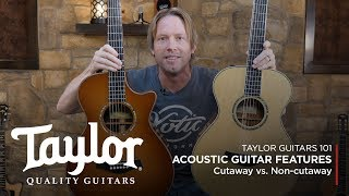 Acoustic Guitar Features   Cutaway Vs. Non-cutaway Guitars