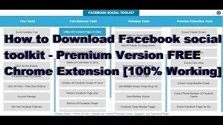 facebook social toolkit license key free - मुफ्त ऑनलाइन