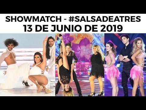 Showmatch - Programa 13/06/19 - #SalsaDeTres -Invitados Ariel Puchetta, More Rial y Sole Fandiño
