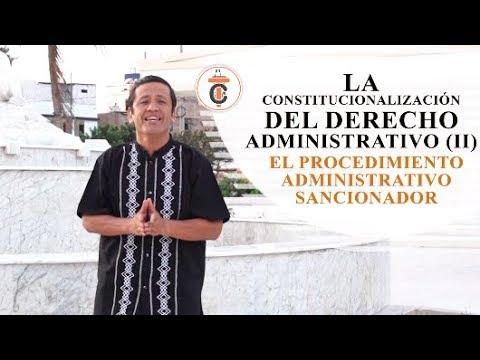LA CONSTITUCIONALIZACIÓN DEL PROCEDIMIENTO ADMINISTRATIVO SANCIONADOR Tribuna Constitucional 119
