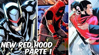 """RED HOOD DESPUÉS DE SU PELEA CON BATMAN """"RED HOOD EL FORAJIDO"""" PARTE 1 @SoyComicsTj"""