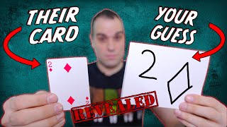 They WIll Think You Have Psychic Powers! EASY Mentalism Card Trick Tutorial! Learn Now!
