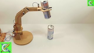 Como Fazer Um Braço Robótico Eletrônico Caseiro