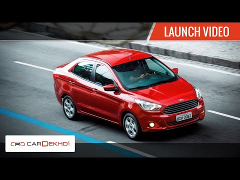 2015 Ford Figo Aspire Launch in India
