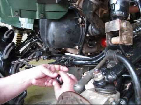 How To Remove Clips On Fuel Filter Arctic Cat Prowler