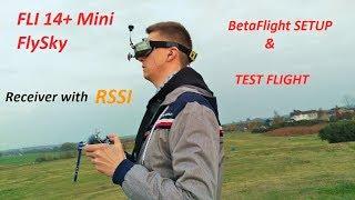 Flysky Fli14+ RSSI Receiver Review 📡 - Самые лучшие видео