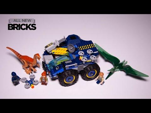 Vidéo LEGO Jurassic World 75940 : L'évasion du Gallimimus et du Ptéranodon