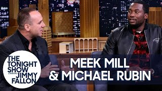 Meek Mill Speaks Is Working to Free a Million People from the Criminal Justice system on Jimmy Fallo