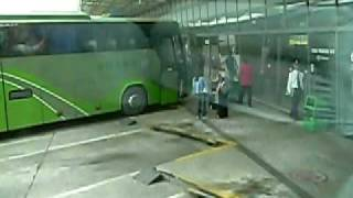 preview picture of video 'Why not to use the Public bus while traveling in China ;-('