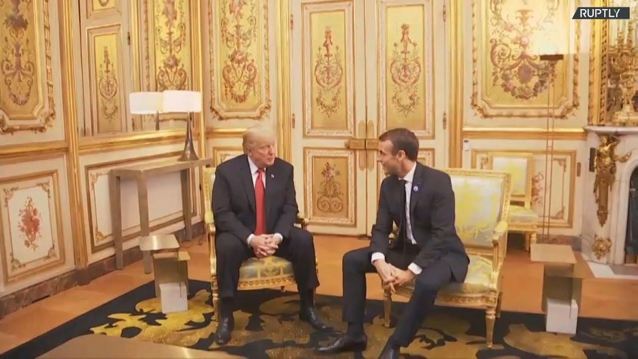 Εποικοδομητικές συνομιλίες Τραμπ και Μακρόν μετά την «παρεξήγηση»
