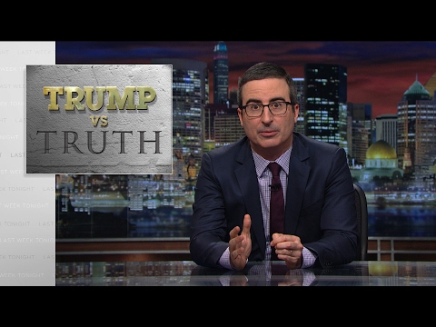 Trump vs. pravda - Last Week Tonight