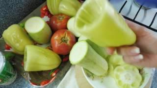 Фаршированные овощи. Снимаем стресс на кухне.