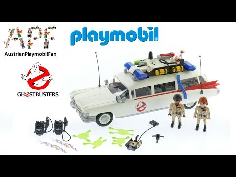 Vidéo PLAYMOBIL Ghostbusters 9220 : Ecto-1 Ghostbusters